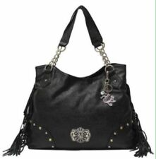 Kathy Van Zeeland Purse Handbags Satchel Hand bag Stylish Black (((Brand NEW)))