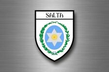 sticker adesivi adesivo stemma etichetta bandiera citta argentina salta