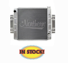 """Northern 205150 - Hot Rod Radiator 23-3/4"""" W X 19-3/4"""" H, ILeft / Out-Right"""