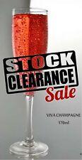 24 x Unbreakable Drinkware CLEARANCE Champagne (v) 170ml/5oz
