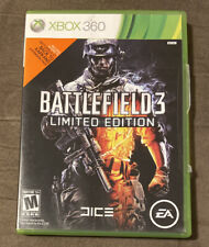 Battlefield 3 Limited Edition Microsoft Xbox 360 ~ Complete! ~ Fast Shipping!