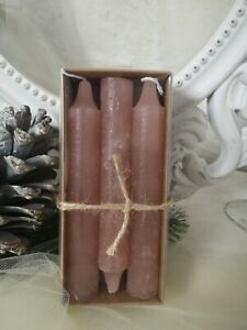 6er Pack Wand Candles Country Cottage Shabby 5 11/16x0 13/16in