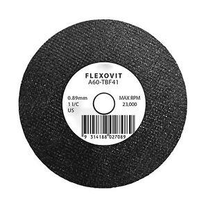 10 x Flexovit 76 x 0.89 x 9.53mm Metal Cut Off Wheel A60-TBF41