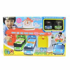 The Little Bus Tayo - Main Garage Playset Sound & Talking Korean Toy animation