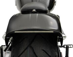 Custom Dynamics Chrome LED Billet Taillight for Harley Davidson Breakout