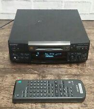 Sony Minidisc player Deck MDS-S38 + Remote
