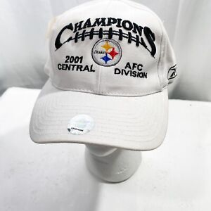 Pittsburgh Steelers Champions 2001 Central AFC Division Hat