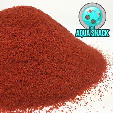 Red Mini Tropical Granules - Colour Enhancing Fish Food Guppy Angel Molly Platty