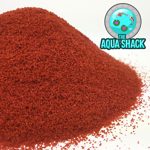 Red Mini Tropical Granules - Colour Enhancing Fish Food Guppy Angel Molly Platty