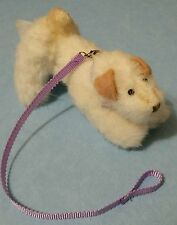 """Vogue Doll Company 4""""jointed,dog Sparky with leash; Ginny's pup! mint"""