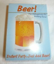 Beer! Playing Cards Drinking Game Party NEW SEALED Funny Drink Gag Fun Liquor