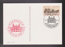 Briefmarken-Ganzsachen aus der DDR mit Sonderstempel