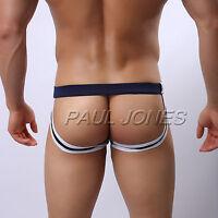 Men Sexy G-String Thong Briefs Underwear Jockstrap Underpants Pouch Shorts S M L