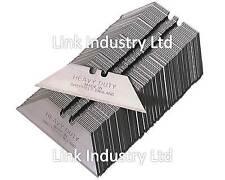 50 X Heavy Duty Stanley hojas cortantes, cortar hojas cortantes, hecho en Sheffield
