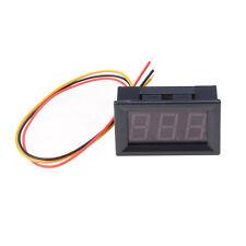 Voltmetro digitale a tre fili per pannelli a LED rossi DC 0V a 99.9V CH