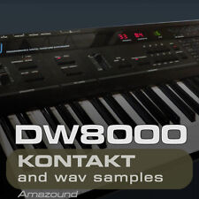 KORG DW8000 SAMPLES KONTAKT 425 nki 3426 WAV 24BIT MAC PC MPC LOGIC PRO TOOLS FL