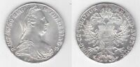 AUSTRIA - SILVER THALER UNC COIN 1780 YEAR RESTRIKE