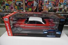 CHRISTINE 1958 PLYMOUTH FURY AUTO WORLD 1:18 SILVER SCREEN MACHINE VERSION NIB