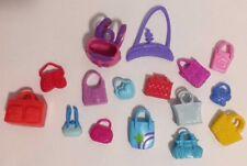 Polly Pocket Lot of 16 Purses/Handbags and Backpack EUC Mattel Accessories