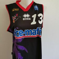 superbe maillot de basket ball NICE CAVIGAL porté femme taille L ERREA