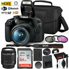 Canon Rebel T7 DSLR Camera with 18-55mm Lens Kit and Sandisk 64GB Ultra Speed