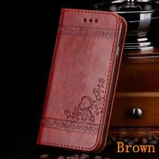 Luxury Flip Cover Wallet Card Holder Leather Phone Case Stand for iPhone 5 5s SE