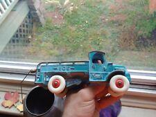 Antique Arcade cast iron Mack Ice  Truck 1920s