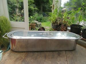 Large Stainless Steel Fish Steamer