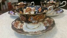 Royal Albert England Bone China Footed Heirloom Tea Cup & Saucer