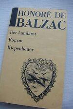 "Roman Honore de Balzac "" Der Landarzt "" DDR 1987 siehe Inhaltsfotos"