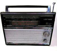 RADIO RARE VINTAGE VEF 202  SOVIET USSR TRANSISTOR