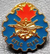 Vintage Canadian Forces Employers Supporting Reservists Enamel Pin / Badge