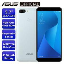 "ASUS ZenFone Max Plus 4G Phablet 5.7"" Octa Core 4GB+64GB Fingerprint Smartphone"