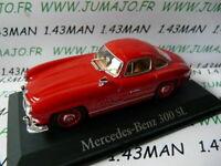 RBA37G voiture 1/43 Italie IXO : MERCEDES benz : 300 SL