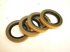 "FOUR -Trailer Axle Grease Seal 6000# 7000# 2.125"" 10-10 Camper Dexter ALKO Axel"