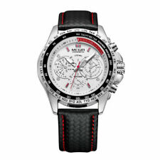 Mens Watches Waterproof Military Stainless Steel Analog Sport Quartz Wrist Watch