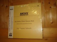 Bach Suites for Violoncello Solo ENRICO MAINARDI ARCHIV ANALOGPHONIC 4x 180g NEW