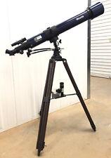 Vintage Meade 312 Refractor Telescope 1980s Classic D=80mm F=900mm F/11 W/Tripod
