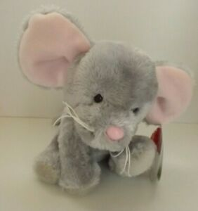 Keel Toys Pippins Squeaks the mouse soft toy - new with tags