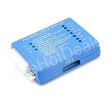 Blue PC 20 24 Pin PSU ATX SATA HD Power Supply Tester