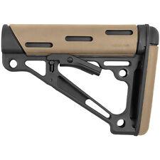Hogue Overmolded Collapsible Buttstock Milspec (FDE), 223 Remington 15340