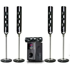 NEW 5.1 CHANNEL HOME SURROUND SOUND THEATER SPEAKER SYSTEM BLUETOOTH STREAMING