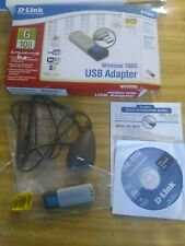 D-Link DWL-G132 Wireless 108G USB Wi-Fi  USB Adapter 108Mbps WPA Security