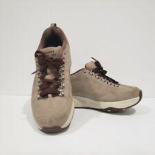 SKECHERS Shape Ups 12321 Womens Toning Optimze Rocker Shoes Suede Tan Brown Sz 7