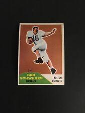 1960 FLEER FOOTBALL (HIGH GRADE) SET BREAK  #71   GER   SCHWEDES   (R)    NM-MT