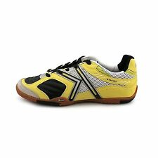 2400a53bc Kelme Star 360 Michelin Mens Leather Indoor Soccer Shoes Black   Lime