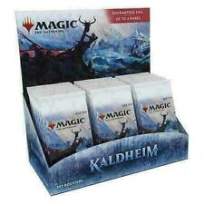 Magic The Gathering kaldheim conjunto Booster Box NUEVO Preventa barcos 02/05 sellado de fábrica