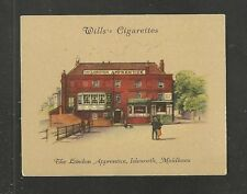 The LONDON APPRENTICE Isleworth Middlesex 1939 original card Famous London Pub