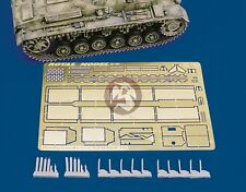 Royal Model 1/35 Panzer III StuG III Fenders Mudguards Set (Tamiya / Dragon) 168
