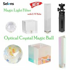 Photo Prop Lens Flare Prism Photography Crystal Ball Optical Glass Rainbow Light